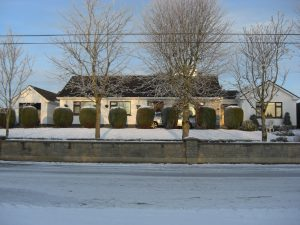 Christmas view of Fortview House
